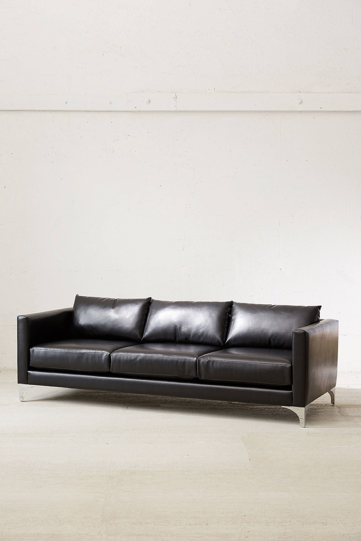 Fine Chamberlin Recycled Leather Sofa 1025Theparty Com Pabps2019 Chair Design Images Pabps2019Com