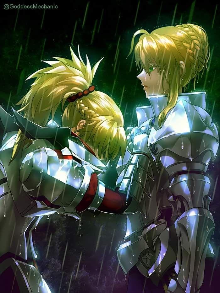 Historias, memes y cómics de Fate series