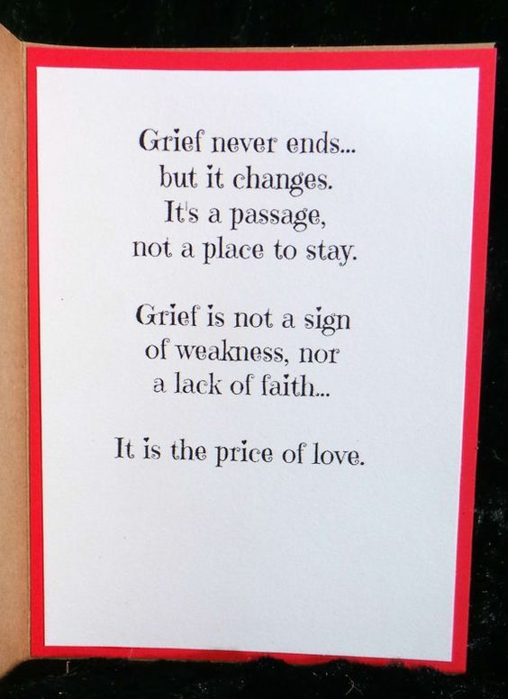 Dog Sympathy Card Dogs teach us about love and loss Handmade Quotation Card Pet Bereavement Support