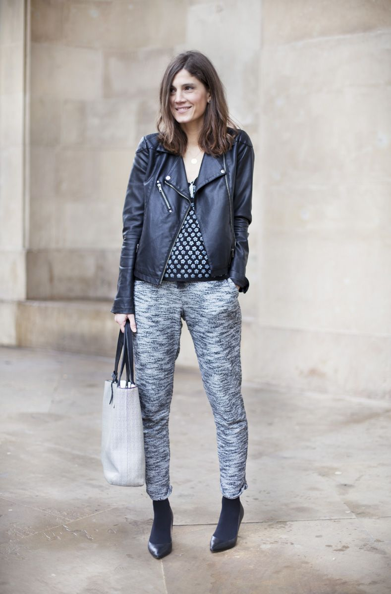 B A La Moda Comoda Con Pantalones De Chandal Pantalones De Moda Pantalones De Chandal Moda