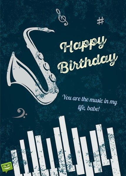 Birthday Wishes For Husband With Music : birthday, wishes, husband, music, Happy, Bday,, Handsome!, Greatest, Birthday, Message, Husband, Music,, Biker,