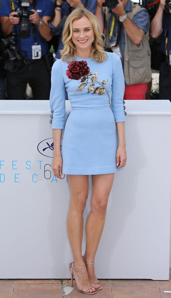 Diane Kruger zachwyciła 4. dnia festiwalu w Cannes (FOTO) - Zeberka.pl