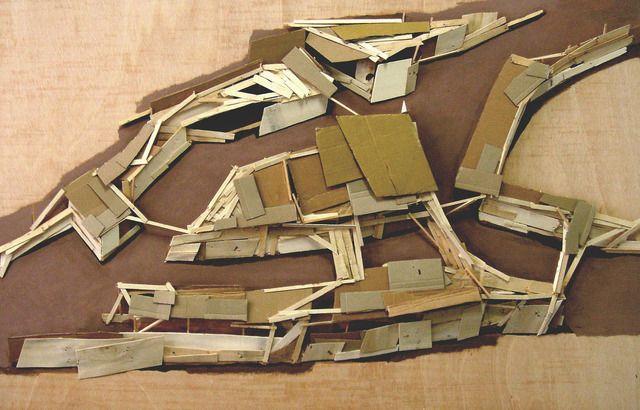 Tadashi Kawamata, 'Site Plan, Paris (2),' 2007, Annely Juda Fine Art