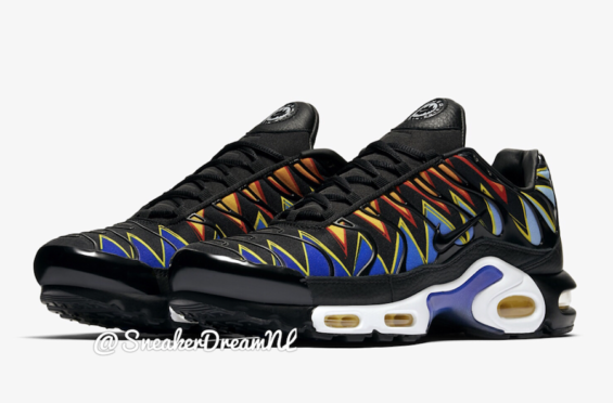 A First Look At The Nike Air Max Plus TN Hyper Blue Tiger