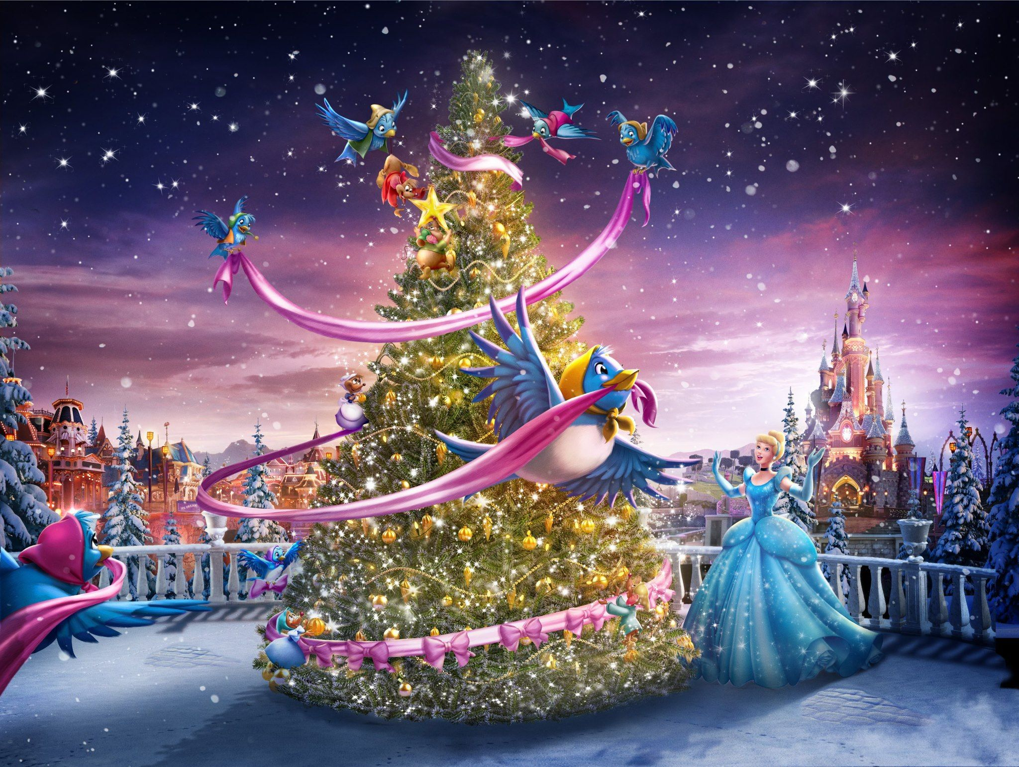 Informations Noel 2012 De Disneyland Paris Disney Kerst Kerst Disney