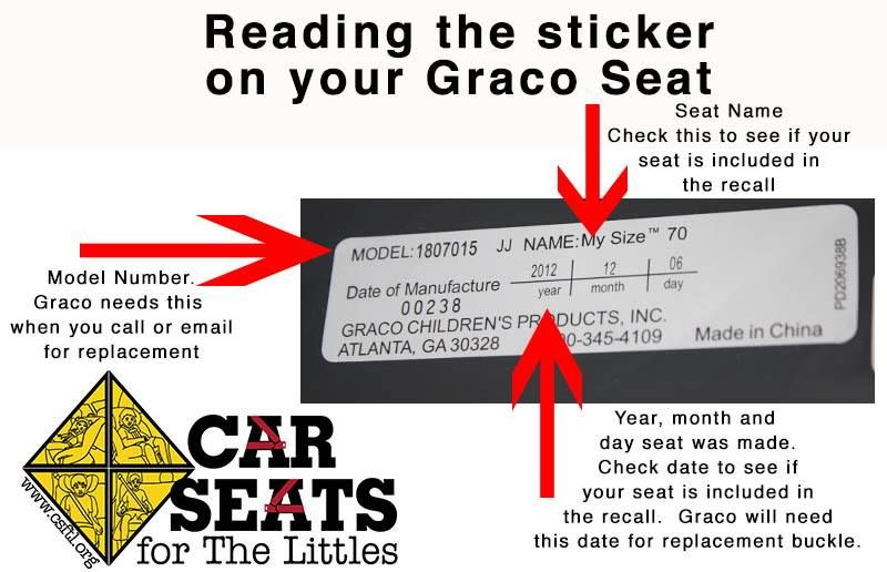 Graco Buckle Recall >> Graco Car Seat Buckle Recall *updated 3/13/2014* | Baby ...