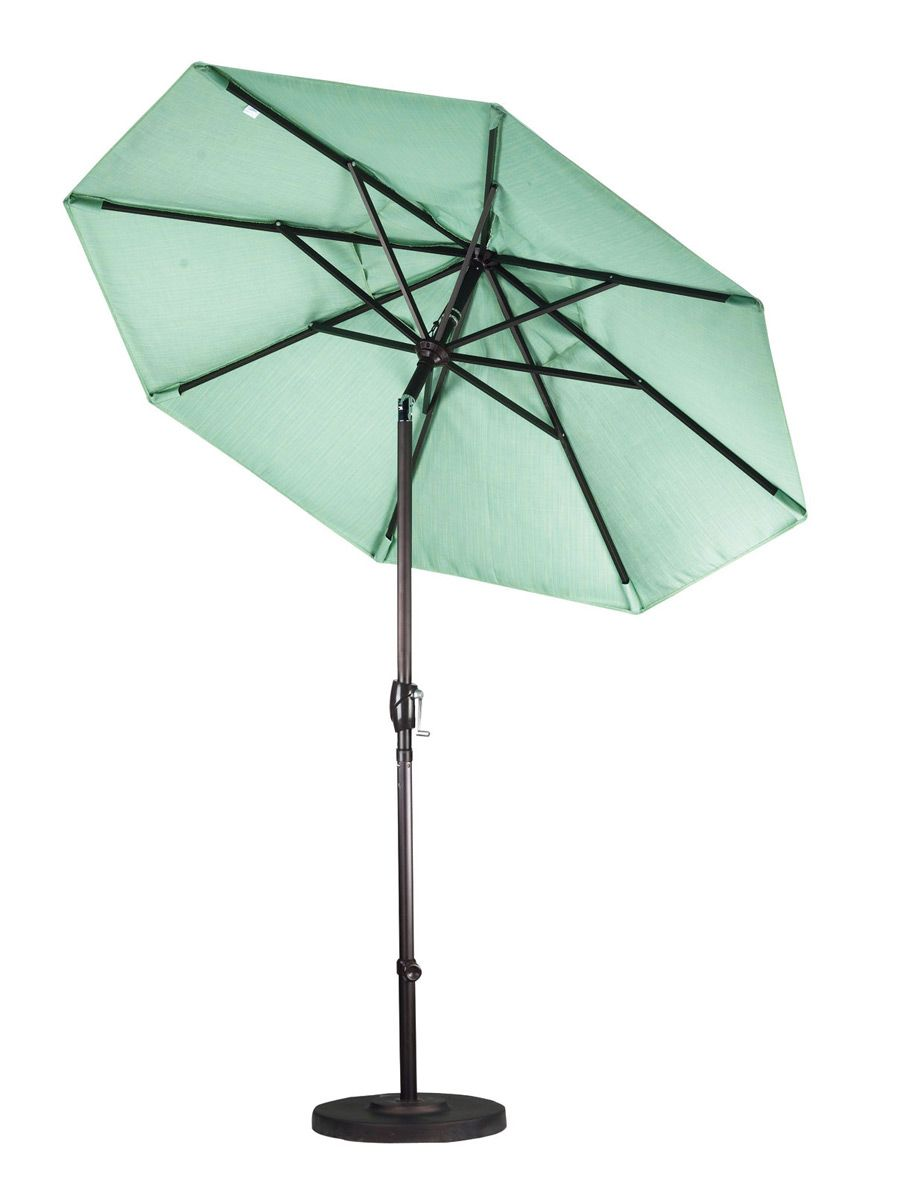 7.5 Foot Sunbrella Terracotta Market Umbrella with Aluminum Frame - GSPT758-5440-Terracotta $224.99