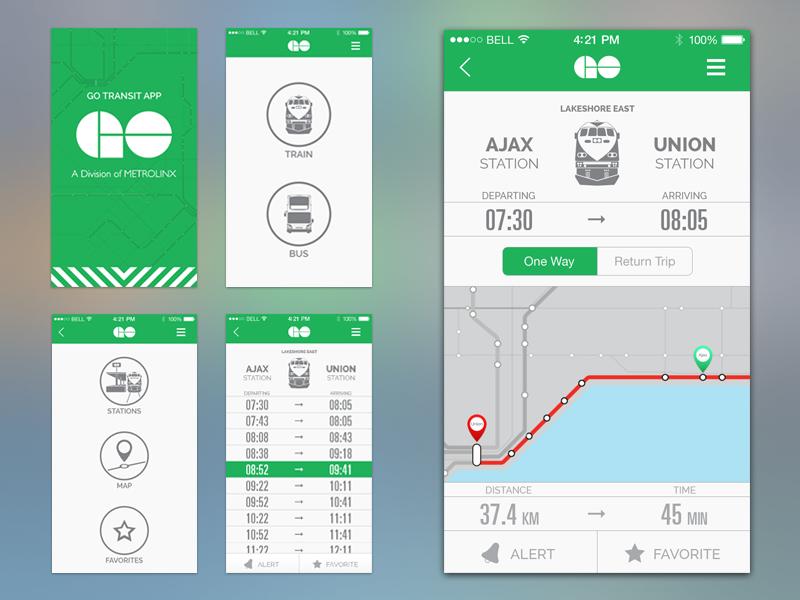 Go Transit Ui Revised App App Design And Ui Design