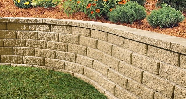 Anchor Block Products | Diamond® 10D | Retaining Wall System ...