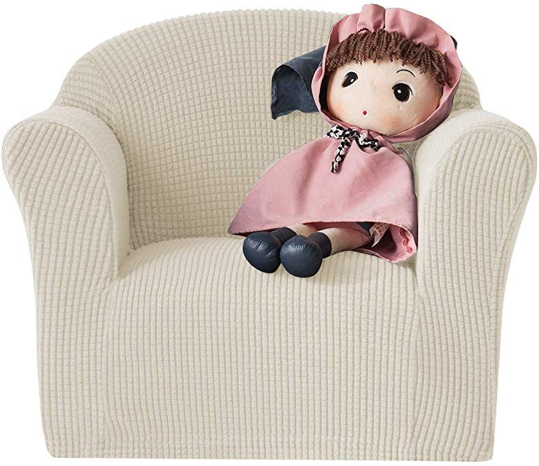 Chun Yi Jacquard Higha Stretch Kids Sofa Cover Child S Chair Cover Mini Size Sofa Slipcovers 1 Seat Soft Armchair Couch Cove Couch Covers Slipcovers Kids Sofa