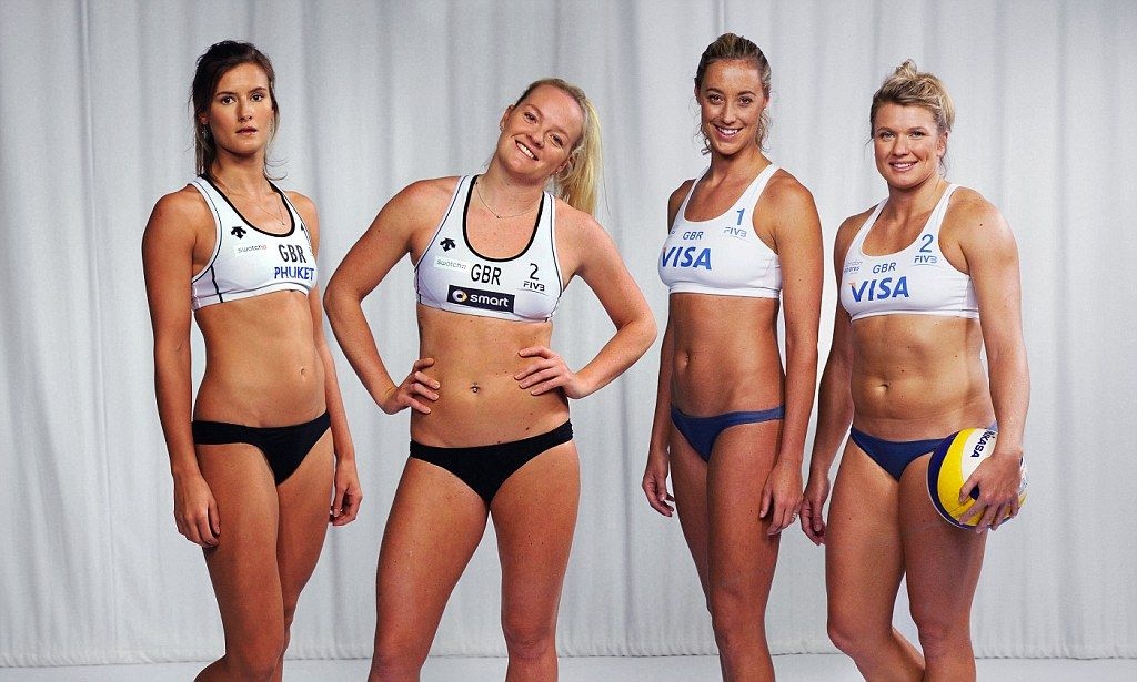Bikinis no longer required for beach volleyball as chiefs green,light other  outfits