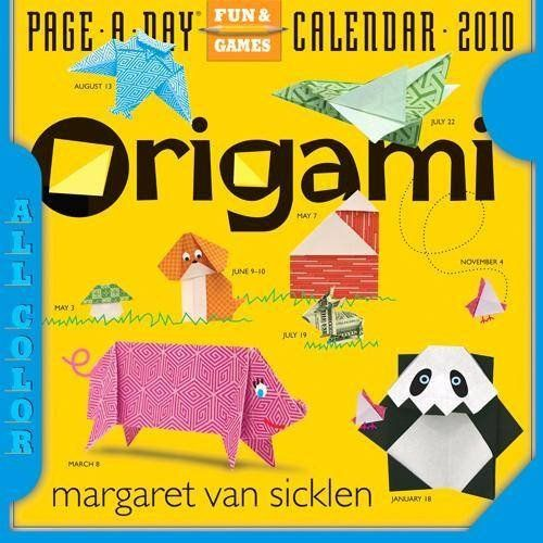 Origami Page A Day 2010 Daily Boxed Calendar: Office Products