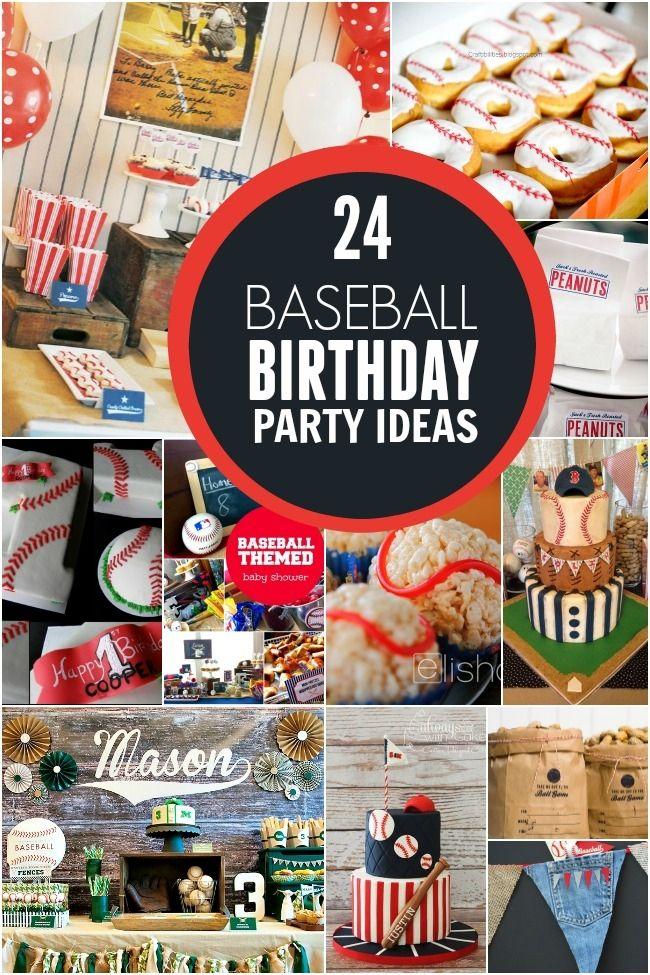 birthday party invitations printable%0A    Baseball Birthday Party Ideas