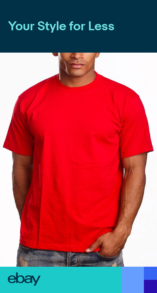 New Men Plain T Shirts Pro5 Pro 5 Athletic T Shirts Red 2 99 Red Shirt Men Shirts T Shirt