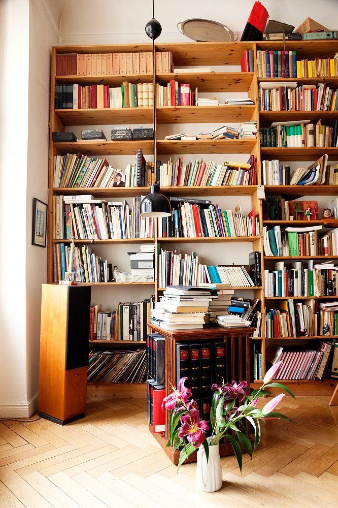 Otto Sander Monika Hansen The Selby Inside Home Home Apartment Bookshelves