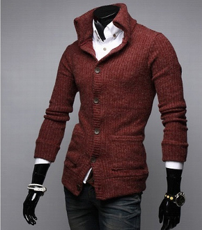 Casual Comfy Solid Sweater Cardigan for Men Fashion 816449b8c