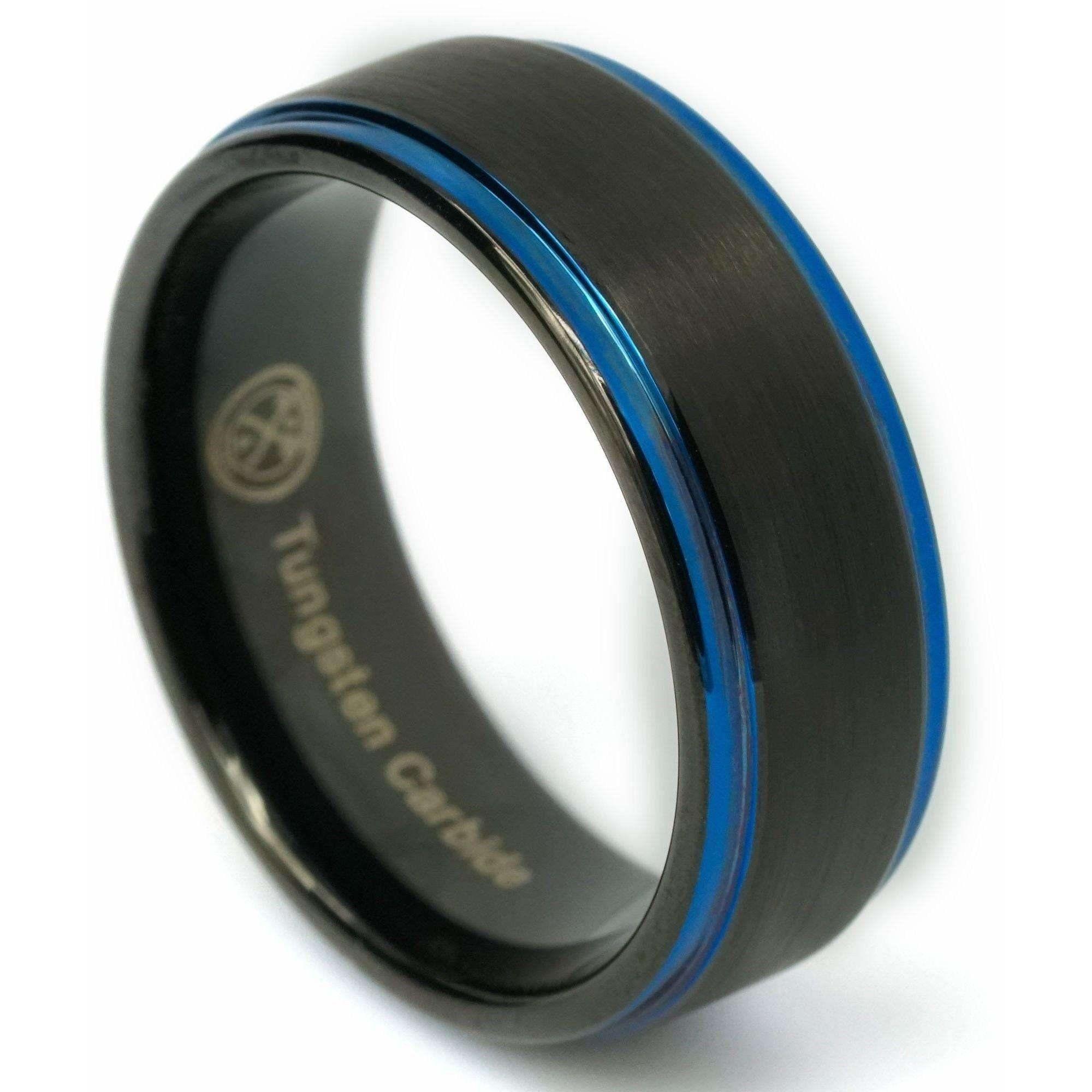 The DJ Black wedding rings, The dj, Velvet ring box
