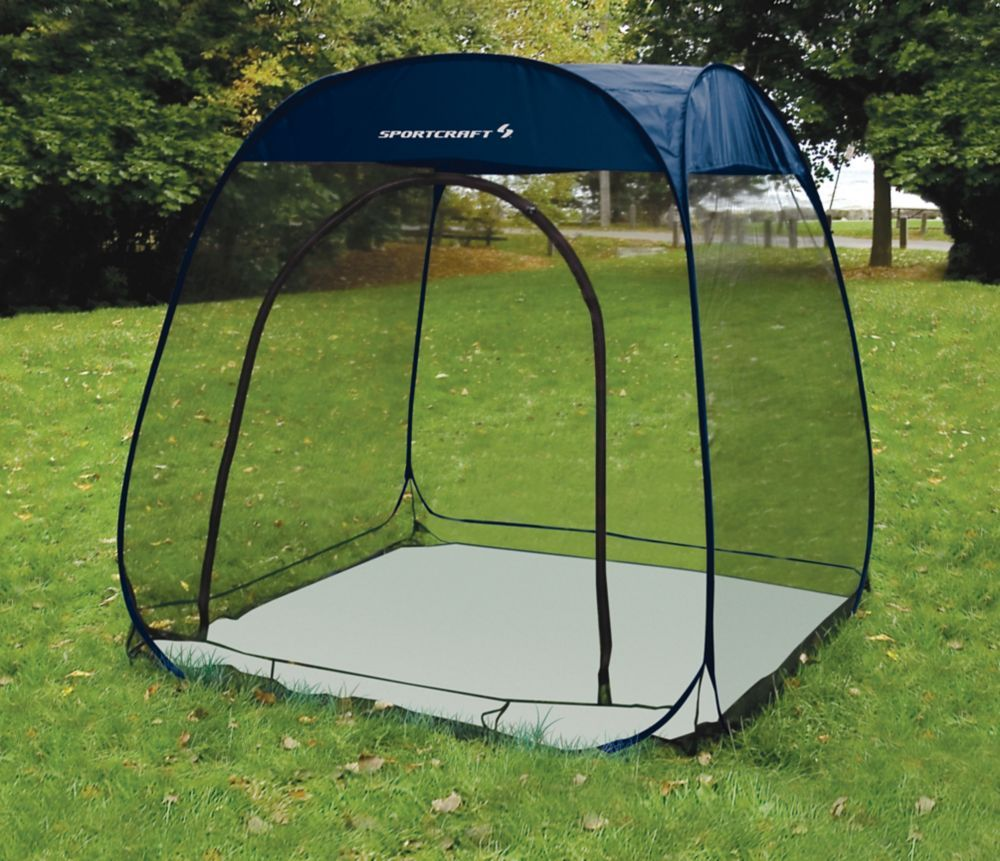 1 Persoons Pop Up Tent 6 Ft Pop Up Screen Room With Floor Butterfly Info Outdoor