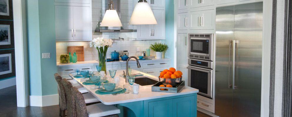 Magnífico Armada Cocinas Azules Pinterest Colección - Ideas de ...