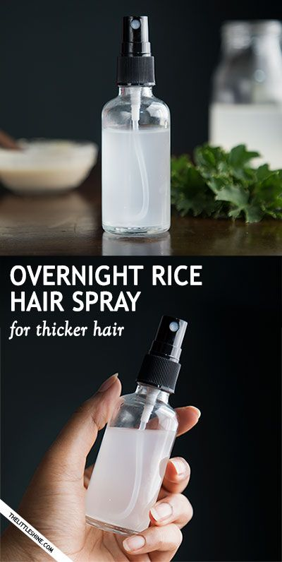 OVERNIGHT RICE WATER FOR FASTER HAIR GROWTH - The Little Shine
