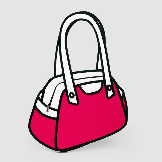 b7bd32fa71 ... cartoon handbags. Jump from Paper!