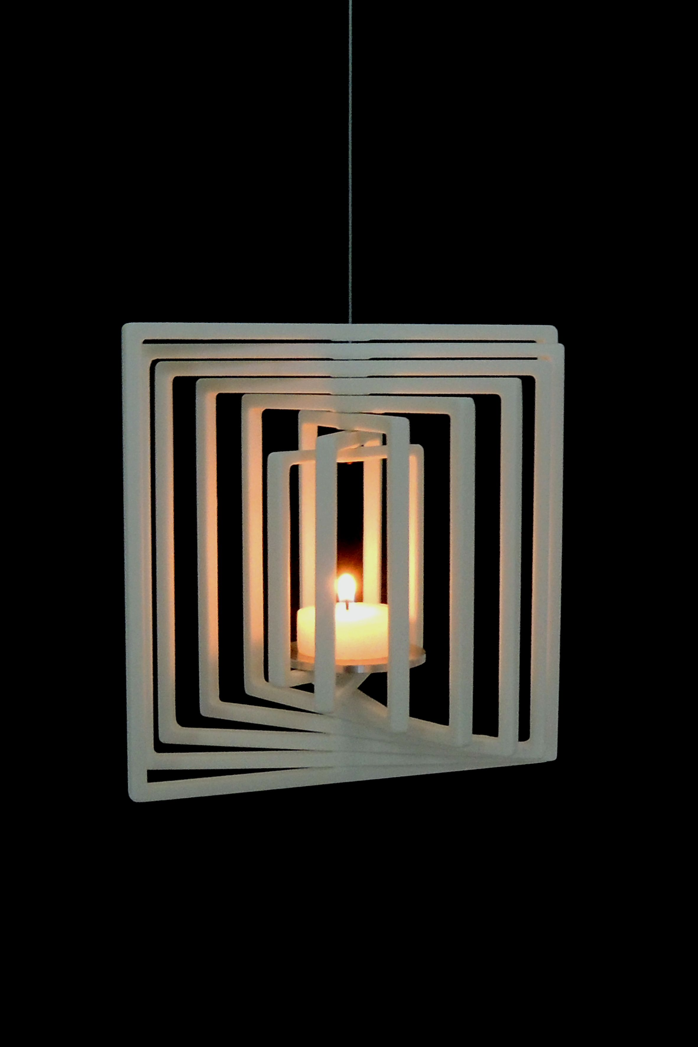 A+E candlestick in Corian®, design Marco Goffiin | play wood ...