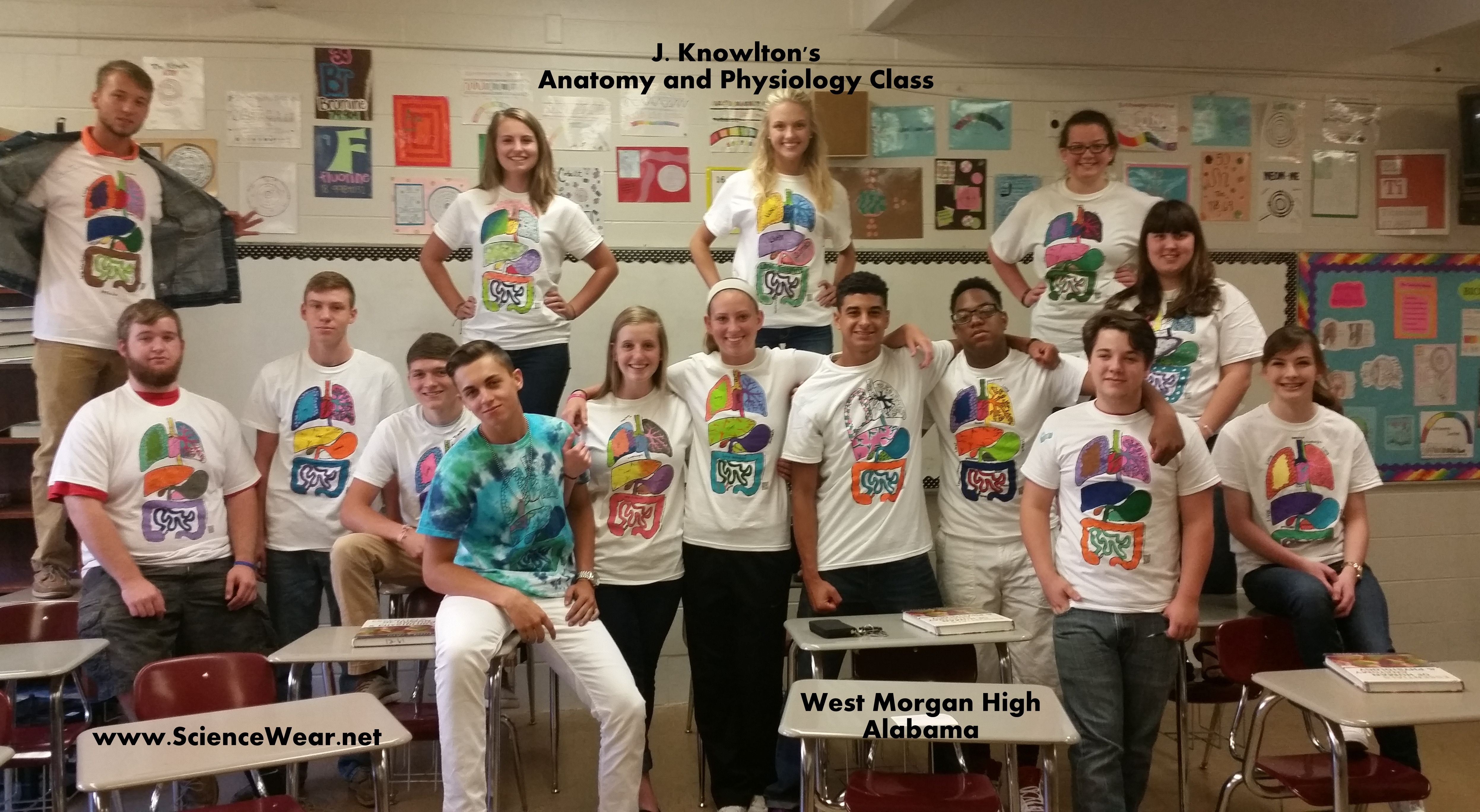 My 11th And 12th Grade Anatomy And Physiology Classes