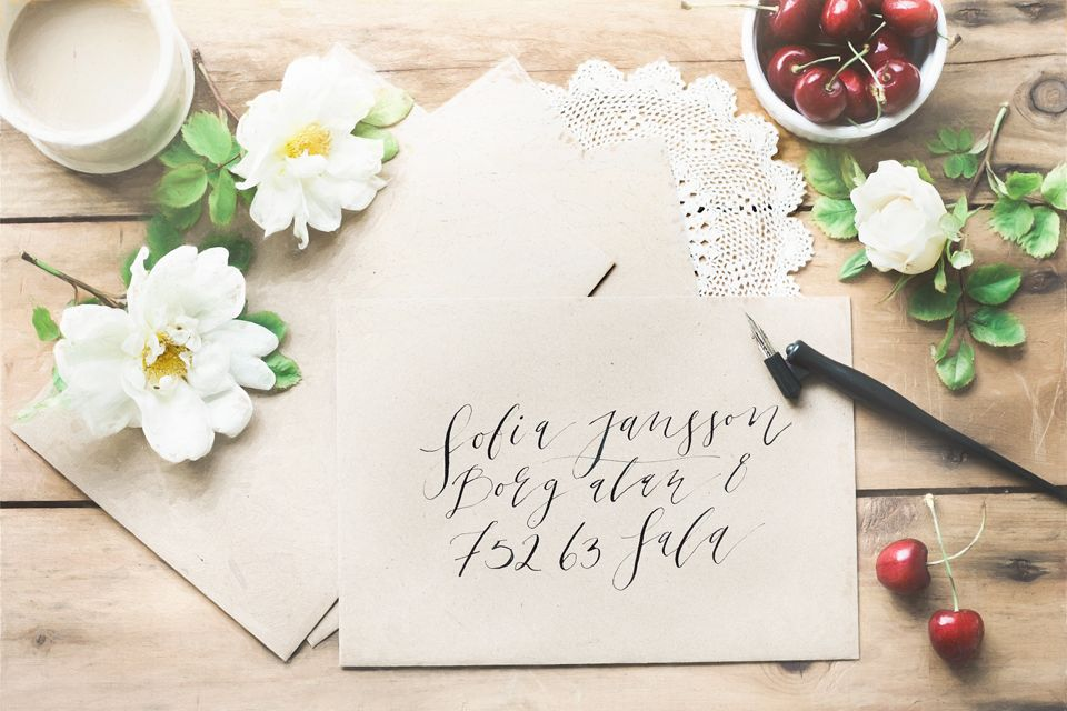 Photo & styling: Pernilla Ahlsén #miss_papperista #stationery #handwriting #letter #storahavet