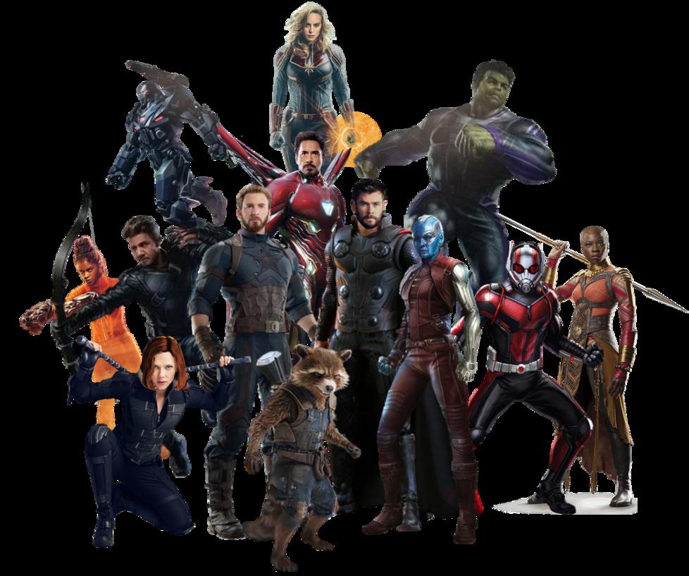 Avengers 4 Team Png Updated By Https Www Deviantart Com Captain Kingsman16 On Deviantart Avengers Marvel Marvel Avengers
