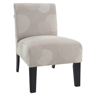 Deco Accent Chair Ivory Sunflower Accent Chairs Furniture Chair