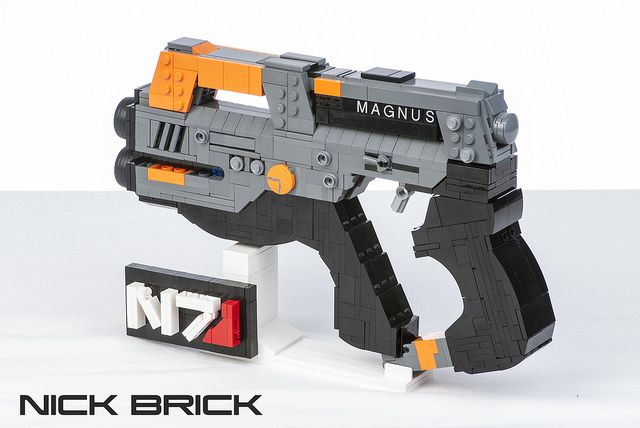 Build Your Own Lego Mass Effect M 6 Carnifex In Preparation For