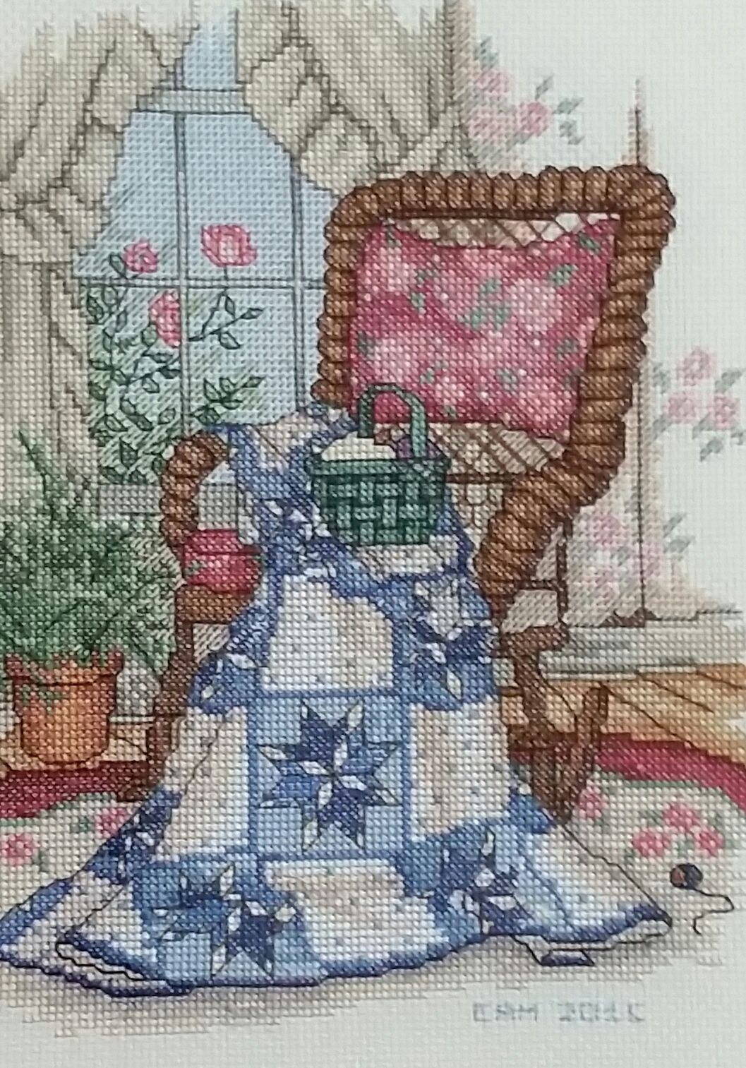 Quot Dove In The Window Quilts Of The Bible Quot A Cross Stitch
