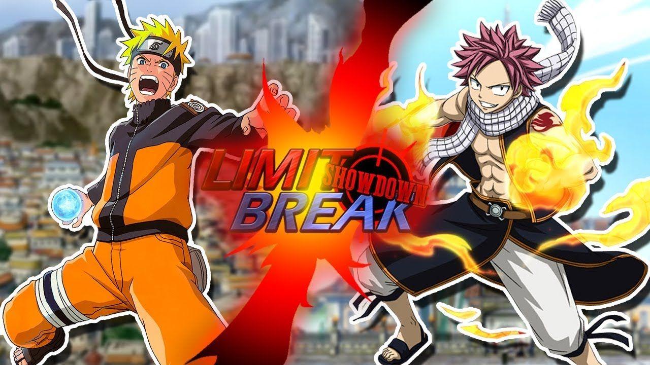 Naruto Uzumaki Vs Natsu Dragneel Naruto Vs Fairy Tail