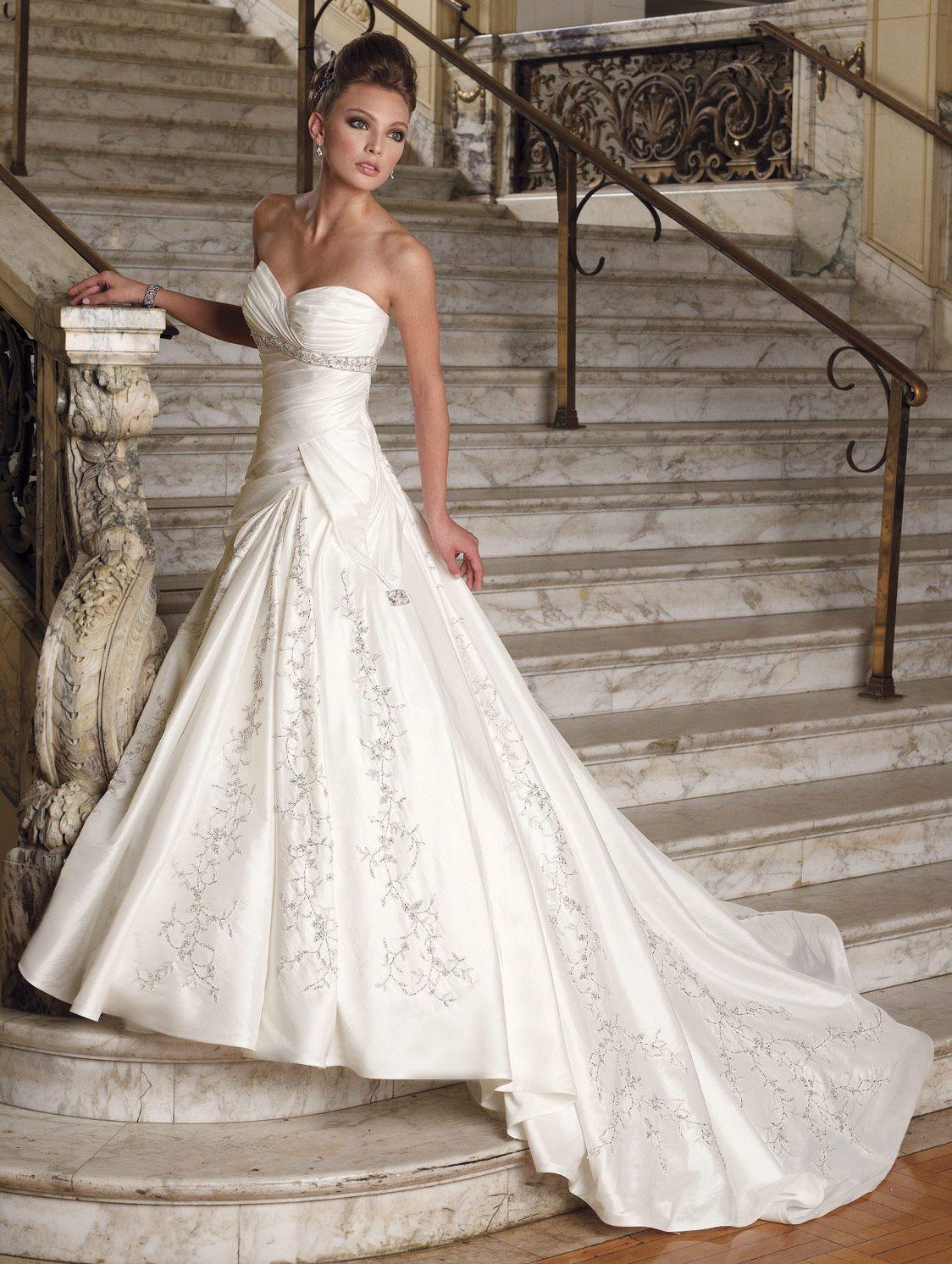 Glamorous most wedding dresses images