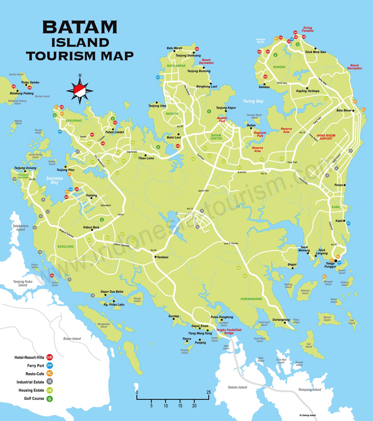 bintan island Batam and Bintan Island Map Bonfire N BINTAN
