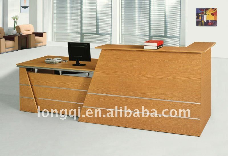 modern office counter table. Modern Fashion High Quality Wooden With Aluminum Office Reception Table Hotel Counter Shop Desk
