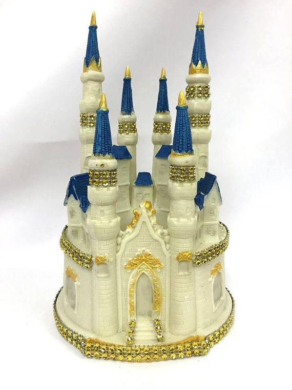 Birthday Fairy Tale Castle Cake Topper Centerpiece Decoration ...