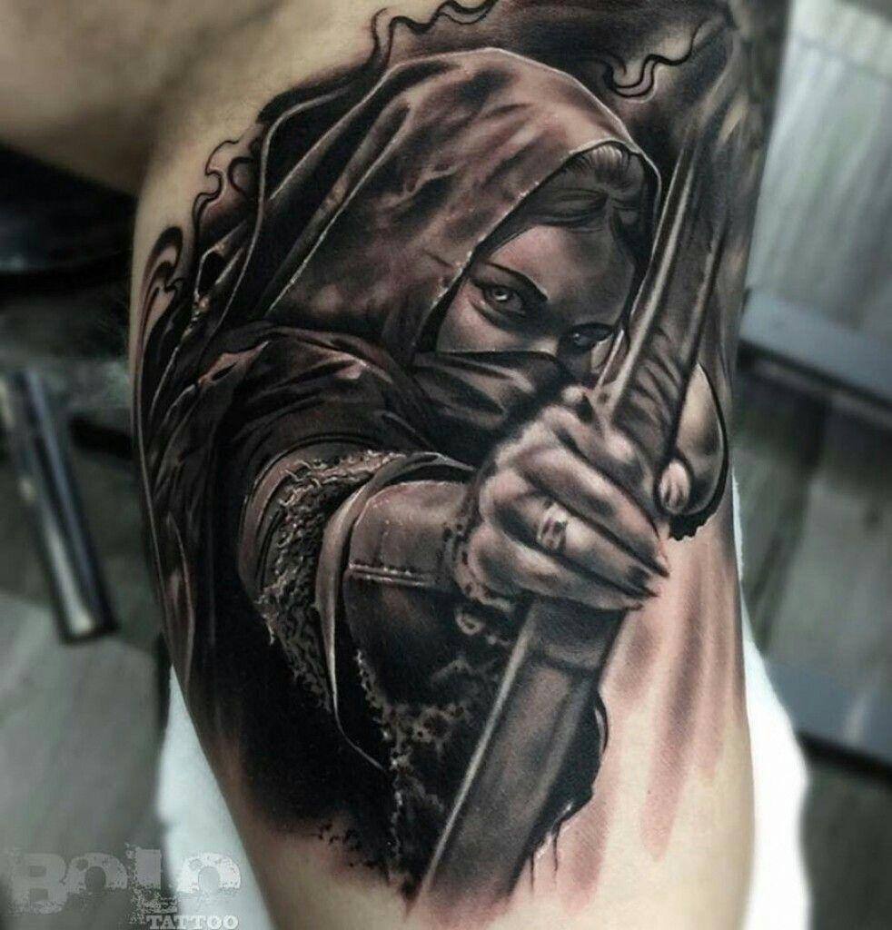 Viking woman tattoo Best Viking Tattoos Pinterest