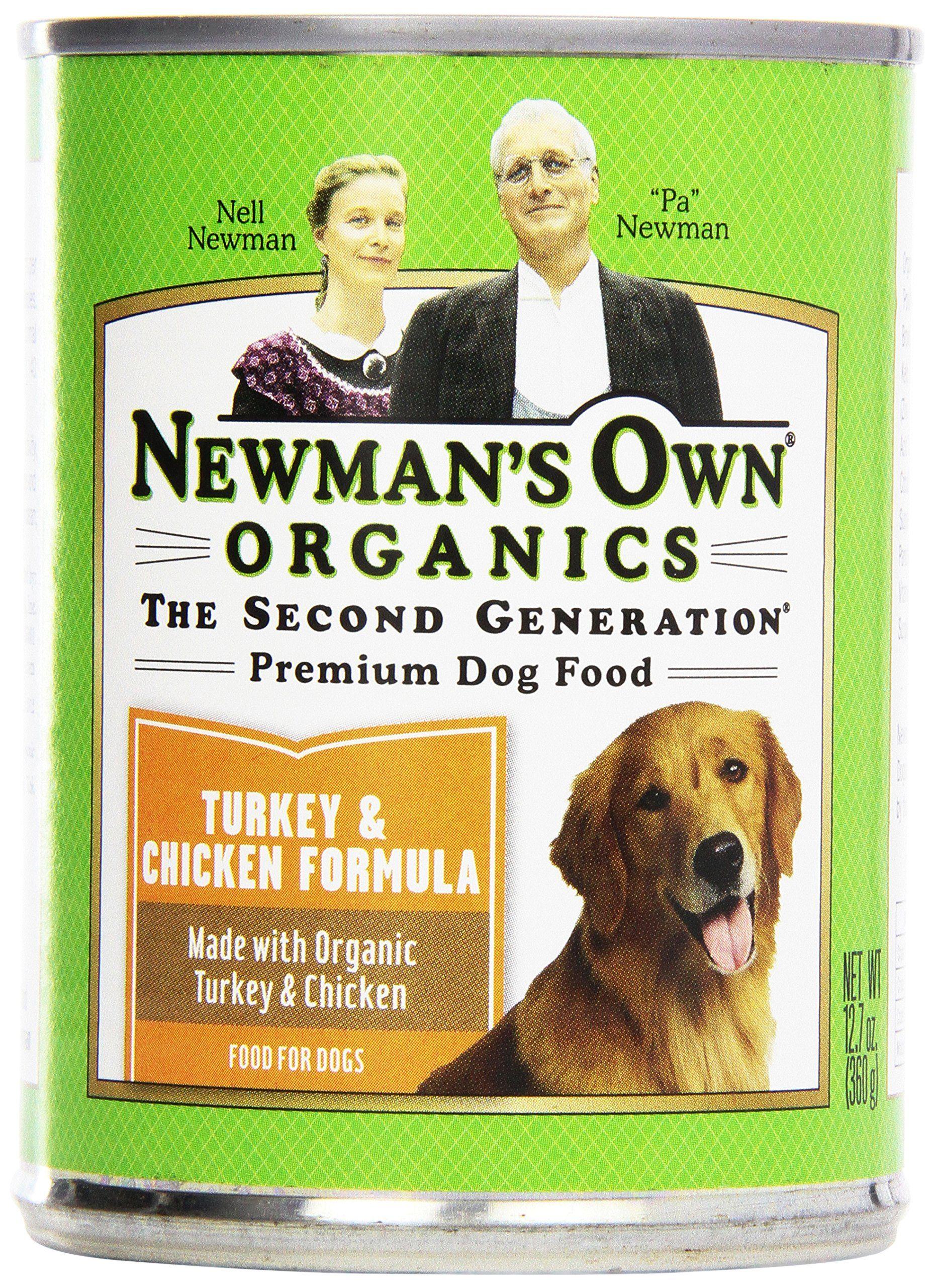 newmans own organics dog food