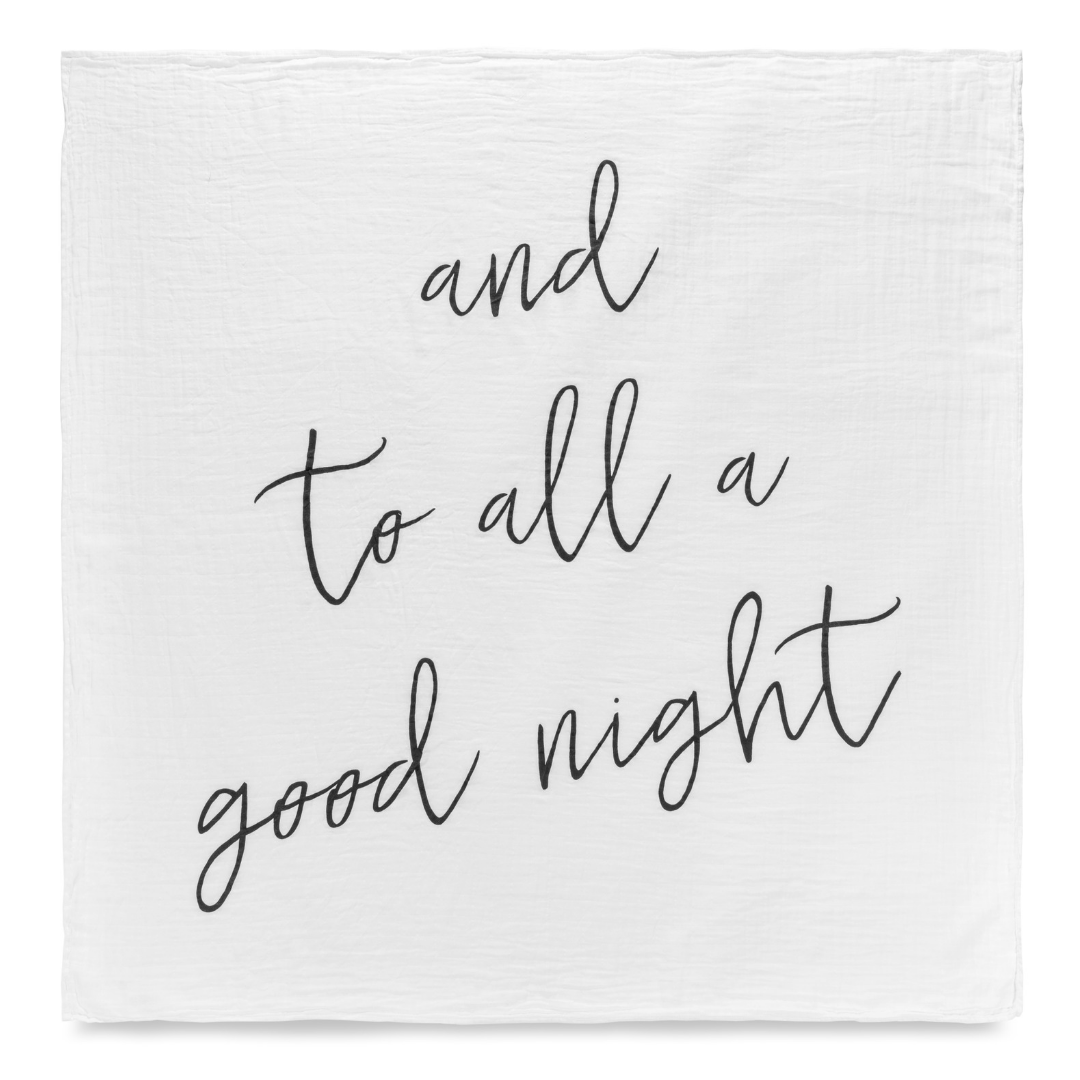 And To All A Good Night Organic Swaddle In 2019