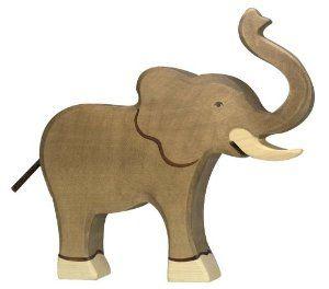 Amazon.com: Holztiger Wooden Elephant: Toys & Games