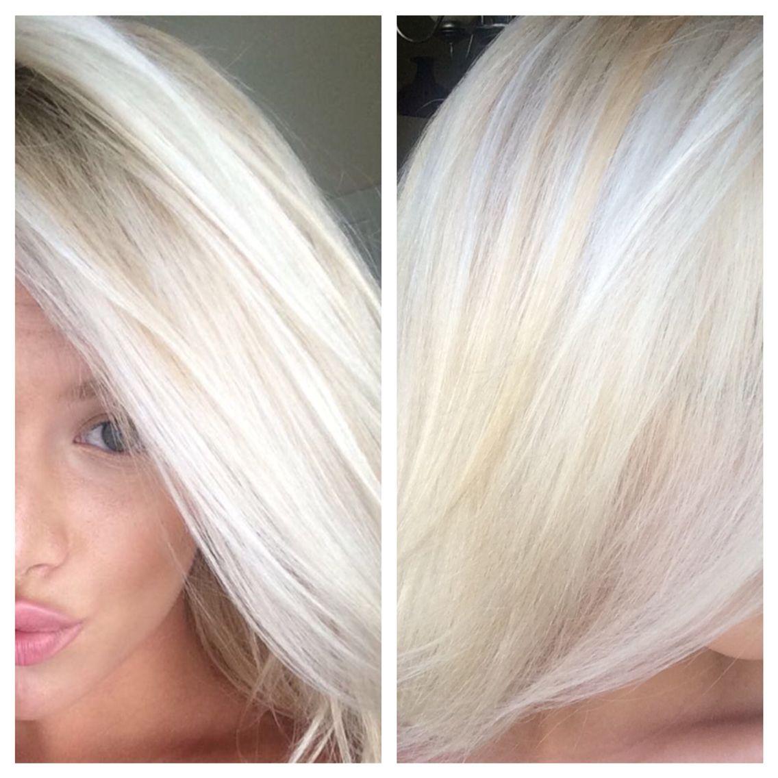Healthy pearl blonde by Partners Hair Studio in Tampa, Florida. 13115 W. Linebaugh Ave. Unit 101 Tampa, FL 33626. www.partnershairstudio.net