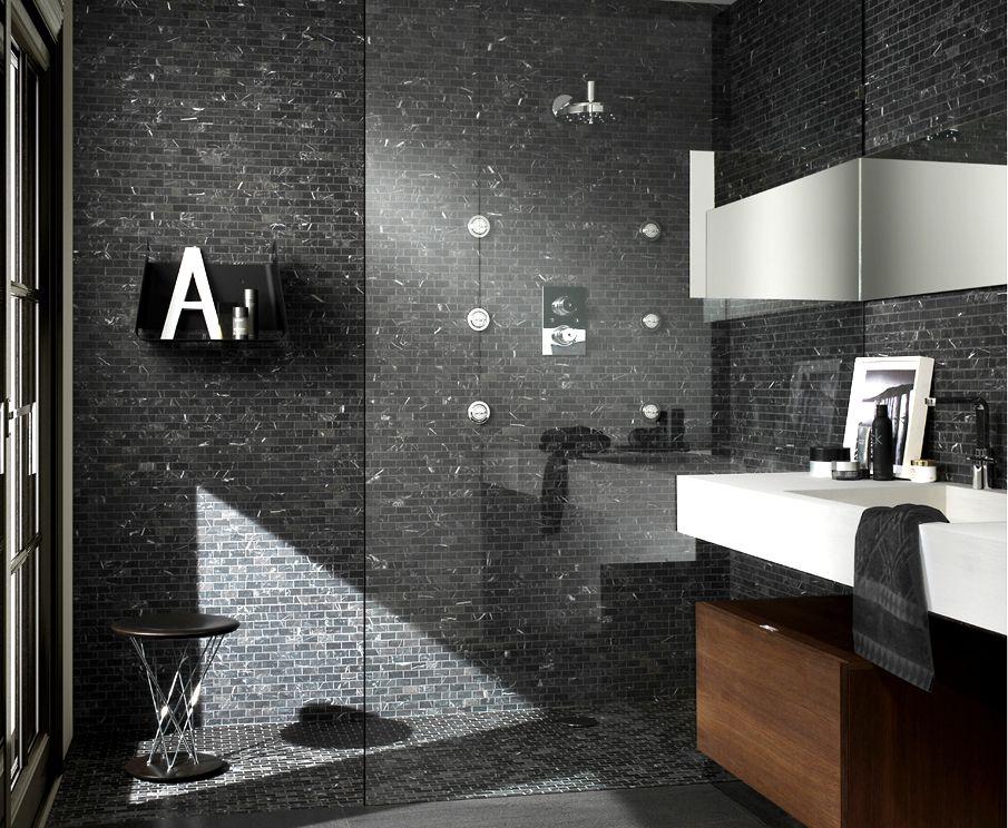 Bildergebnis für rivestimenti bagno doccia effetto cemento e