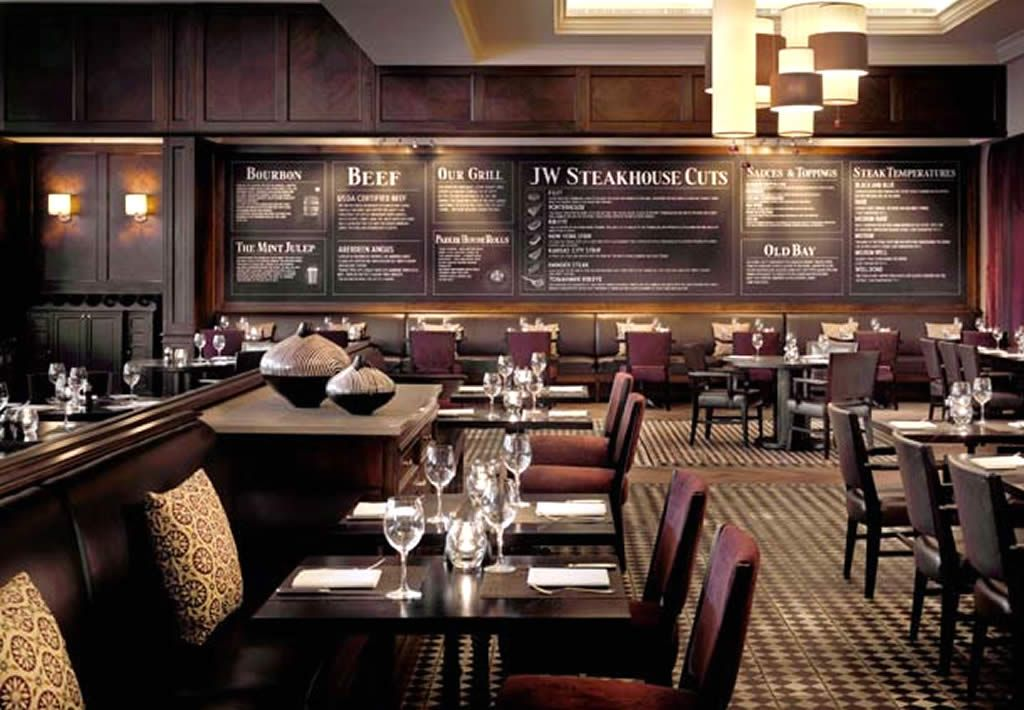 JW Steakhouse Hospitality Interior Design Of Grosvenor House Marriot Hotel London