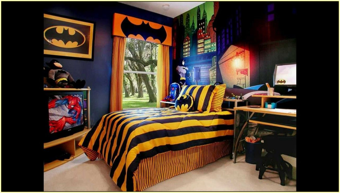 Batman Wallpaper for Bedroom | Ideal Bedroom | Pinterest | Batman ...