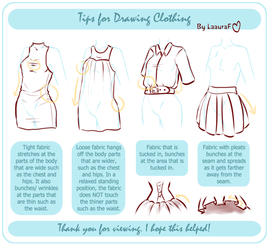 Female Character Design Tutorial : Female tutorials part clothing deviantart drawings