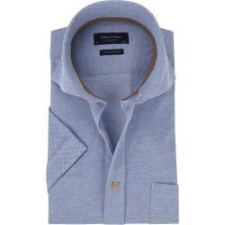 Photo of Profuomo Shirt Ss Gestrickt Blau Profuomo