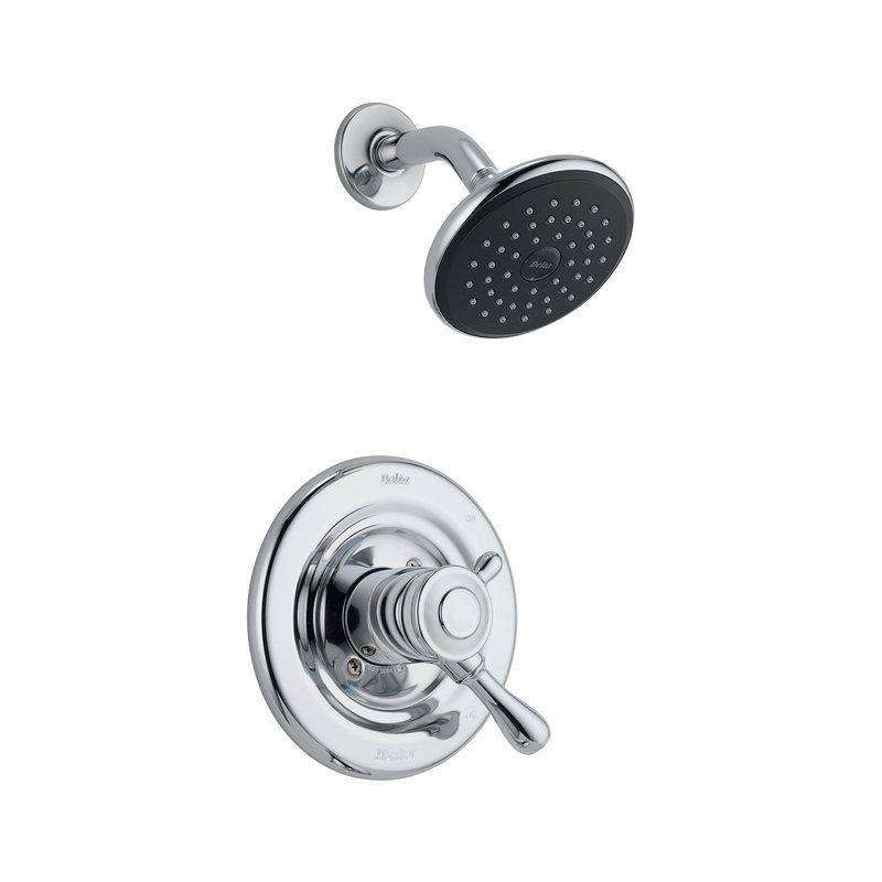 Delta T17278 Separates Temperature Control From Volume On Off Valve So You Can Set The Temp How You Like It And Shower Faucet Tub And Shower Faucets Faucet