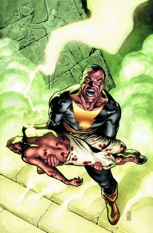 Shazam Black Adam Dc Comics Batman Superman Wonder Woman