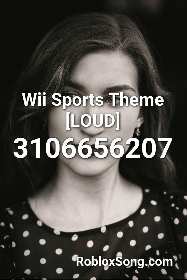 loud wii music roblox id